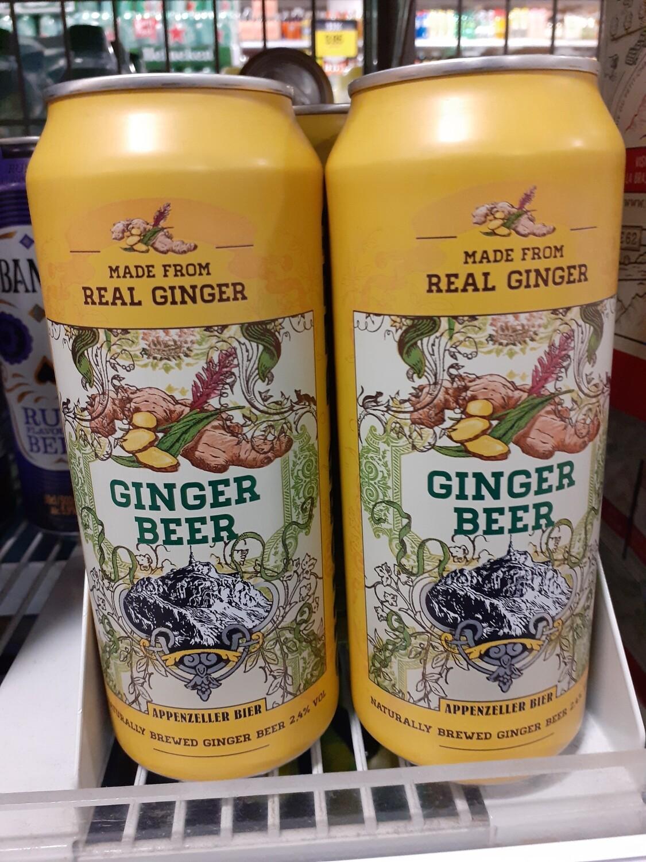 Appenzeller Ginger Beer Can 1x50cl