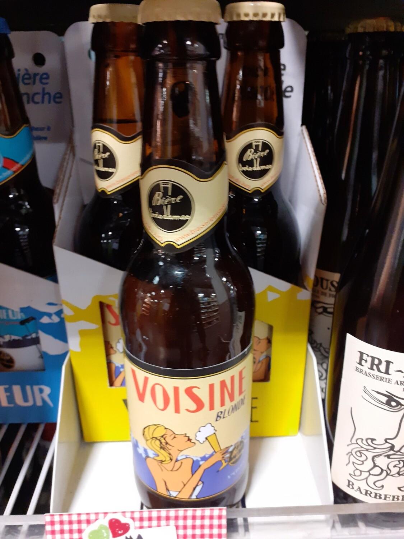 Trois Dames Voisine Bière Blonde 1x33cl