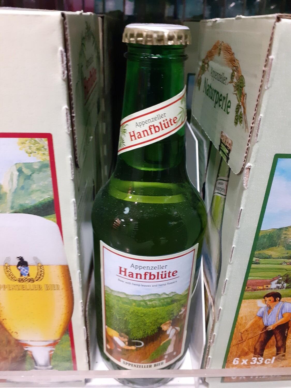 Appenzeller Bier Hanfblüte 1x33cl