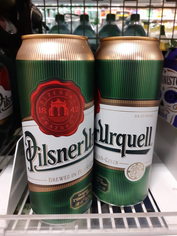 Pilsner Urquell en boite 1x50cl