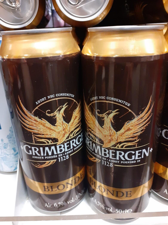 Grimbergen Blonde Bière Canette 1x50cl