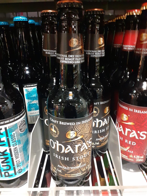 O`Hara`s lrish Stout Bière 1x33cl