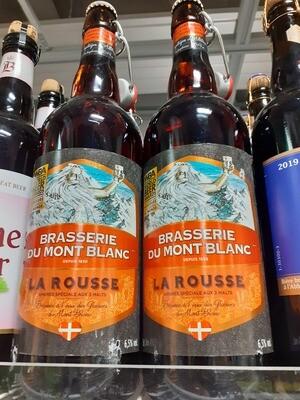 Mont Blanc Bière La Rousse 1x75cl