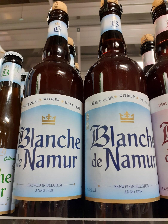 Blanche de Namur Bière de Blé sur Lie 1x75cl