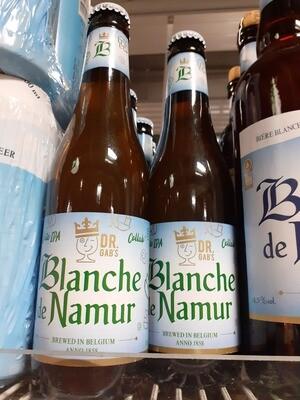 Blanche de Namur Docteur Gabs Bière 1x33cl
