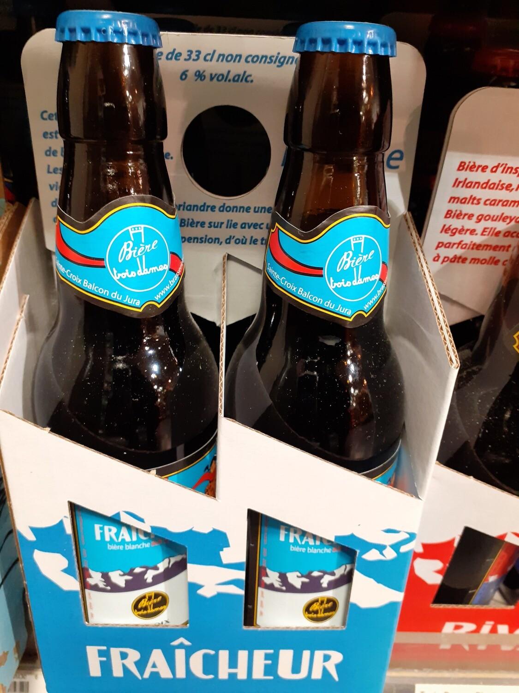 Trois Dames Fraicheur Bière Blanche 1x33cl