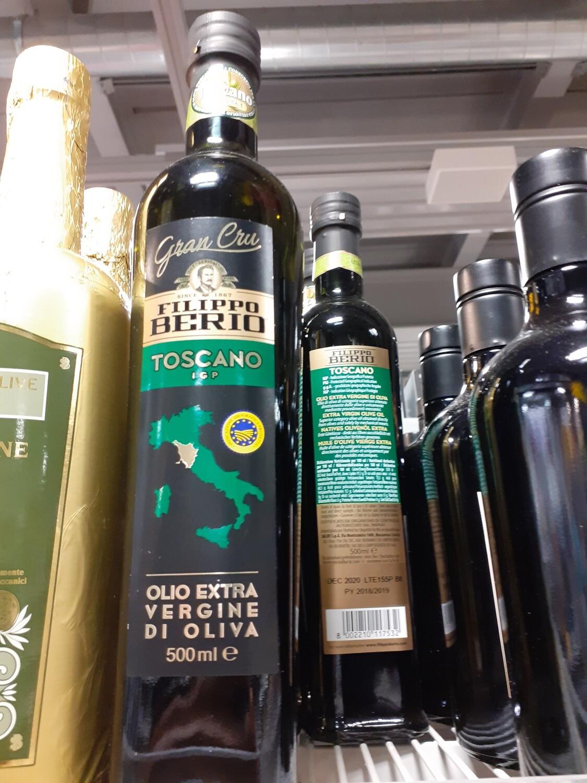F. Berio huile olive IGP Toscano e.v. 1x50cl