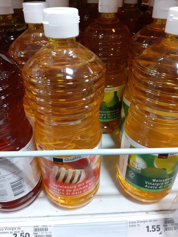 Vinaigre de pommes au miel 1x1L