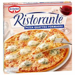 Dr. Oetker Pizza quatre fromages Ristorante surgelée 1x340g