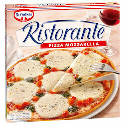 Dr. Oetker Pizza mozzarella Ristorante surgelée 1x335g
