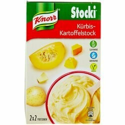 Knorr Stocki Purée de pommes de terre avec potiron 2x60g 120g