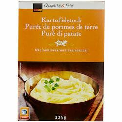 Purée de pommes de terre 4x3 portions 324g