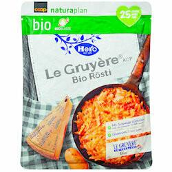 Naturaplan Bio Hero Rösti Le Gruyère 400g