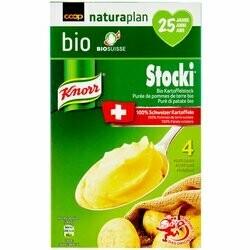 Naturaplan Bio Knorr Purée de pommes de terre en poudre Stocki 145g