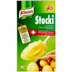 Knorr Stocki Purée de pommes de terre 3x3 portions 330g