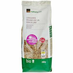 Naturaplan Bio Graines de lin concassées 250g