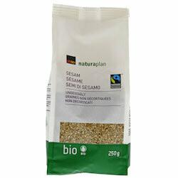 Naturaplan Bio Fairtrade Graines de sésame 250g