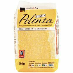 Polenta dorata semoule de maïs grain fin 750g