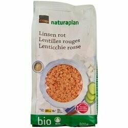 Naturaplan Bio Lentilles rouges 500g