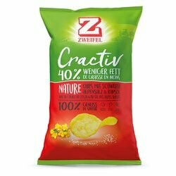 Zweifel Cractiv Chips Nature 160g
