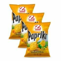 Zweifel Chips au paprika 3 sachets 1x90g