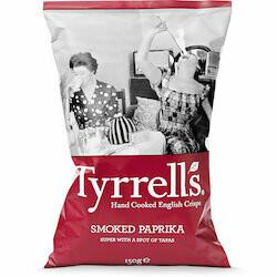 Tyrrells Chips au paprika fumé 150g