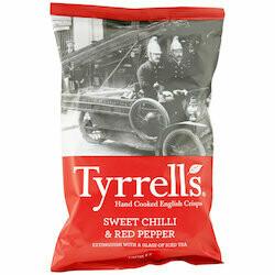 Tyrrell's Chips au piment & au poivre 150g