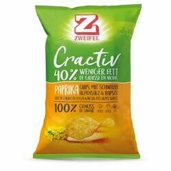 Zweifel Cractiv Chips Paprika 160g