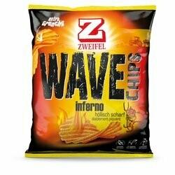 Zweifel Inferno Chips ondulés 120g