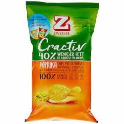 Zweifel Cractiv Chips Paprika 75g
