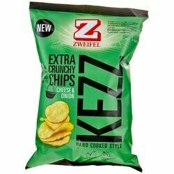 Zweifel Chips extra croustillants Kezz Cheese & Onion 110g
