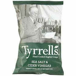 Tyrrells Chips au vinaigre de cidre 150g
