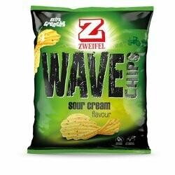 Zweifel Chips ondulés Sour Cream 120g