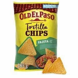 Old El Paso Chips tortilla fajita 185g