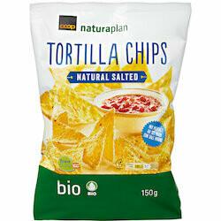Naturaplan Bio Tortilla chips nature 150g
