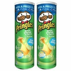 Pringles Chips Sour Cream & Onion 2x 200g