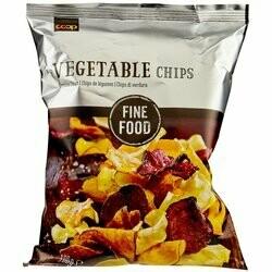 Fine Food Chips de légumes 100g