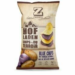 Zweifel Chips Hofladen bleus 100g