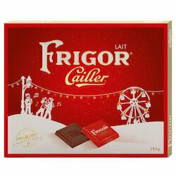 Cailler Carrés de chocolat au lait Frigor de Noël 40 pièces 280g