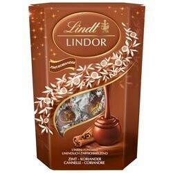 Lindt Boules de chocolat Lindor à la cannelle & coriander 200g