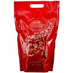 Lindt Boules de chocolat au lait Lindor avec fondant 2Kg