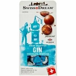 Swiss Dream Boules de chocolat au gin Xellent 150g