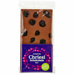 Zuger Rigi Chocolat aux cerises 100g