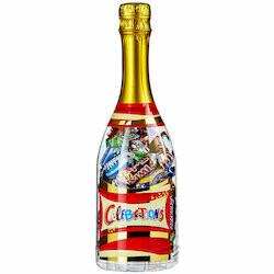 Celebrations Bouteille champagne avec chocolats 312g