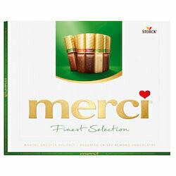 Merci Chocolats au lait aux amandes Finest Sélection 250g