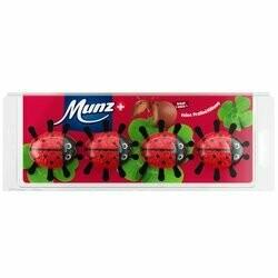 Munz Coccinelles au chocolat 4 pièces 64g