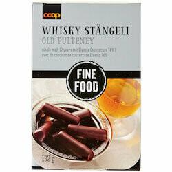 Fine Food Fairtrade Bâtons Whisky 132g