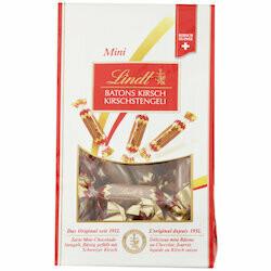 Lindt Mini bâtons de chocolat avec kirsch 120g