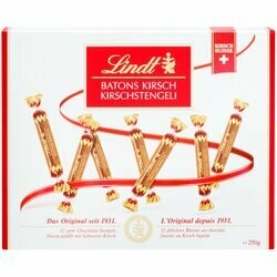 Lindt Bâtons de chocolat au kirsch 250g