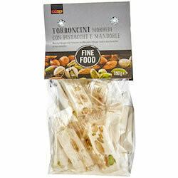Fine Food Nougat tendre aux pistaches & aux amandes 150g